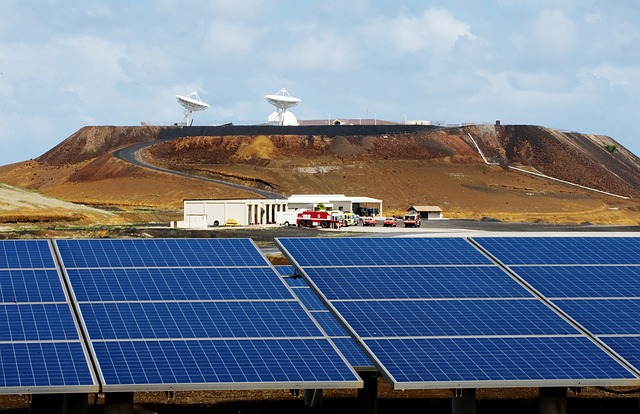Ascension Island solar energy