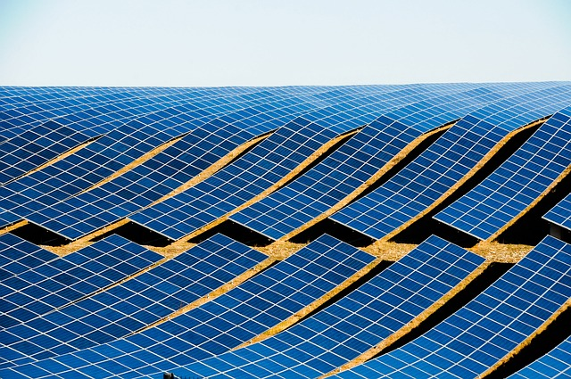electricity with solar panels