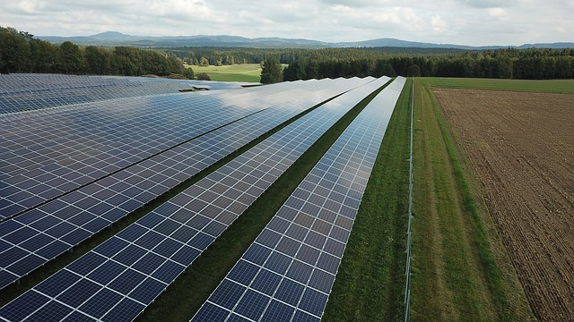 photovoltaic solar energy farm