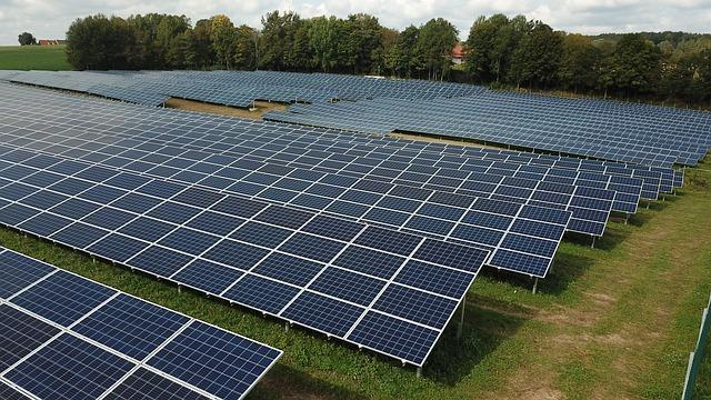 photovoltaic solar energy farm