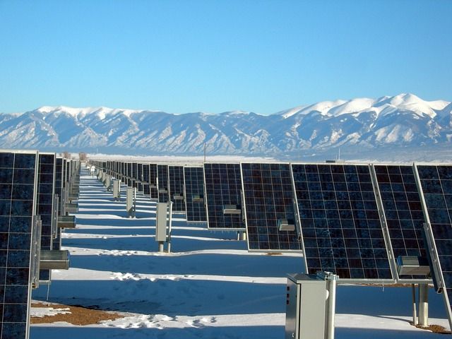 solar panel array from Choose Solar