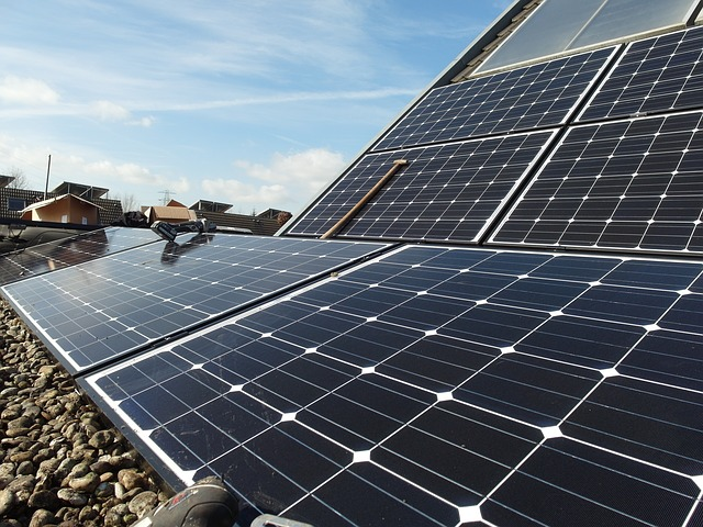 solar panels for alternative energy source