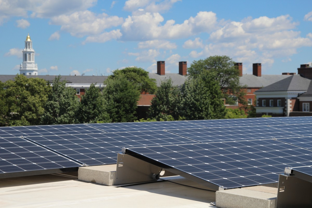 green roof campus from Choose Solar