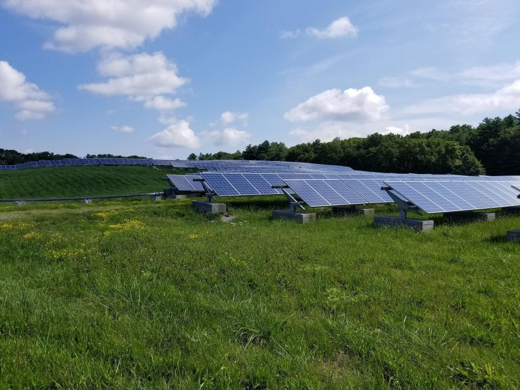 Solar Farm in Maynard, MA